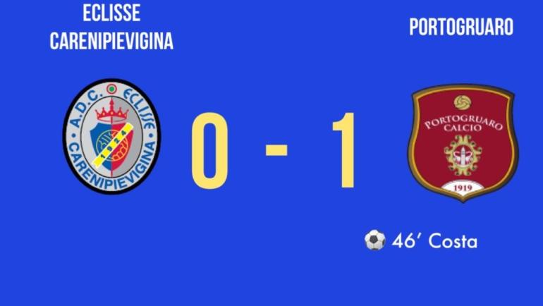 Eccellenza: sconfitta per 0-1 nella prima gara casalinga